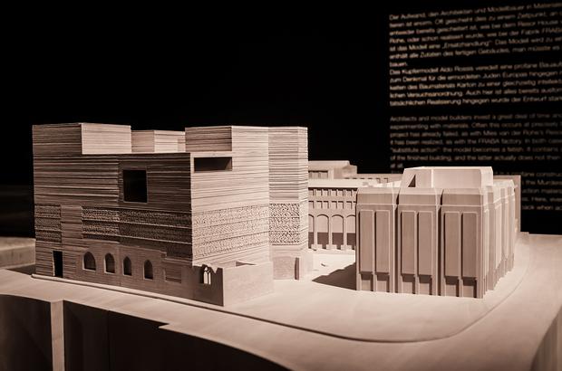 Holzmodell: Kolumba-Museum in Köln, Architekt: Peter Zumthor