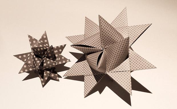 Fröbelstern, Froebel stars, DIY