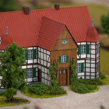 Jagdschloss Modell