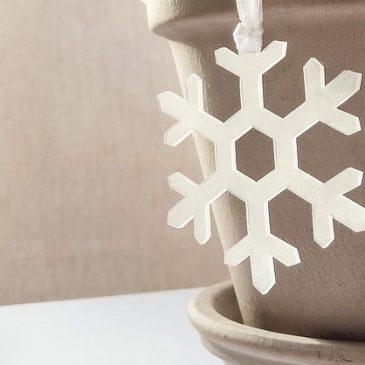 Schneeflocken aus dem Backofen