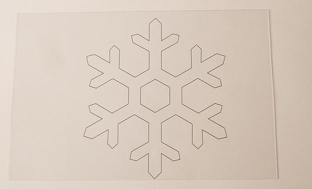 Tutorial Schneeflocke