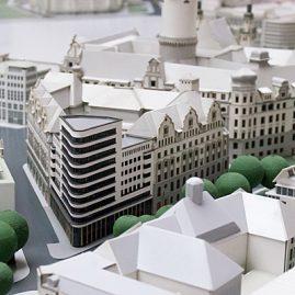 Leipzig Modelle Gebäudemodell