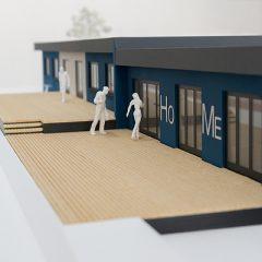 Architekturmodell Hochschule Merseburg